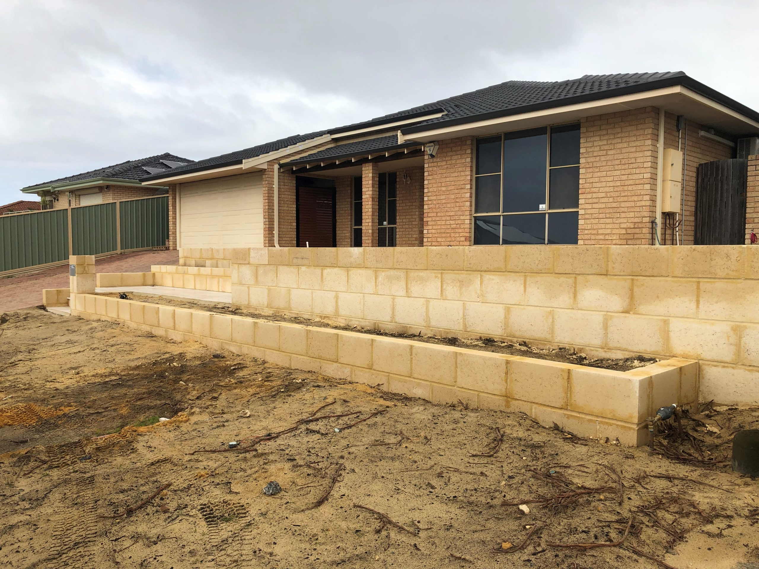 Bricklaying Project in Canberra, ACT