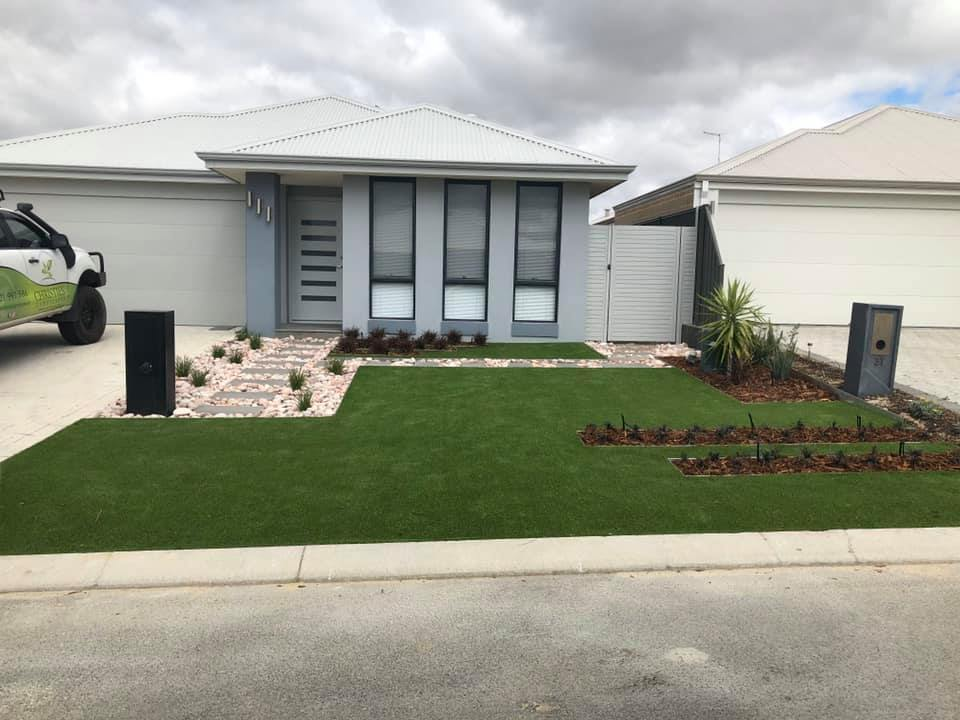 Turf Installation Project in Canberra