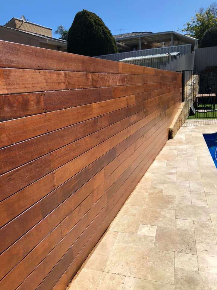 Canberra Hardwood Wall installation